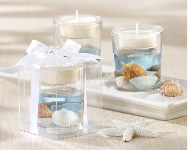 """Seashell"" Gel Tealight Holder"
