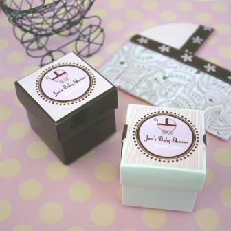 Square Baby Shower Labels & Tags (20 labels) as low as .78 each