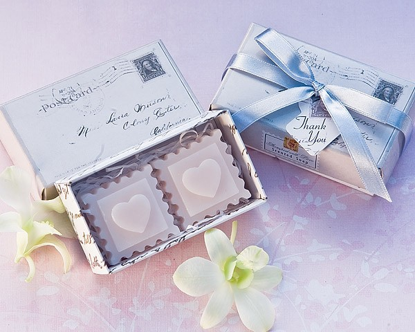 """Stamped with Love"" Scented Soaps"