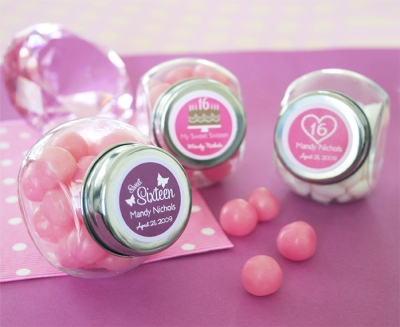 Sweet Sixteen (or 15) Candy Jars
