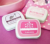 Sweet Sixteen (or 15) Personalized Mint Tins