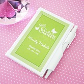 Sweet Sixteen (or 15) Personalized Notebooks