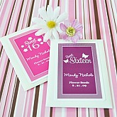Sweet Sixteen (or 15) Personalized Seed Packets