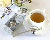 """Tea Time"" Heart Tea Infuser in Tea-Time Gift Box"