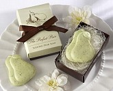 """The Perfect Pair"" Scented Pear Soap Wedding Shower Favors"