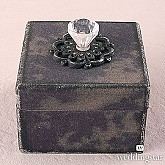 Decorative Vintage Boxes With Ornamental Pulls Set of 4