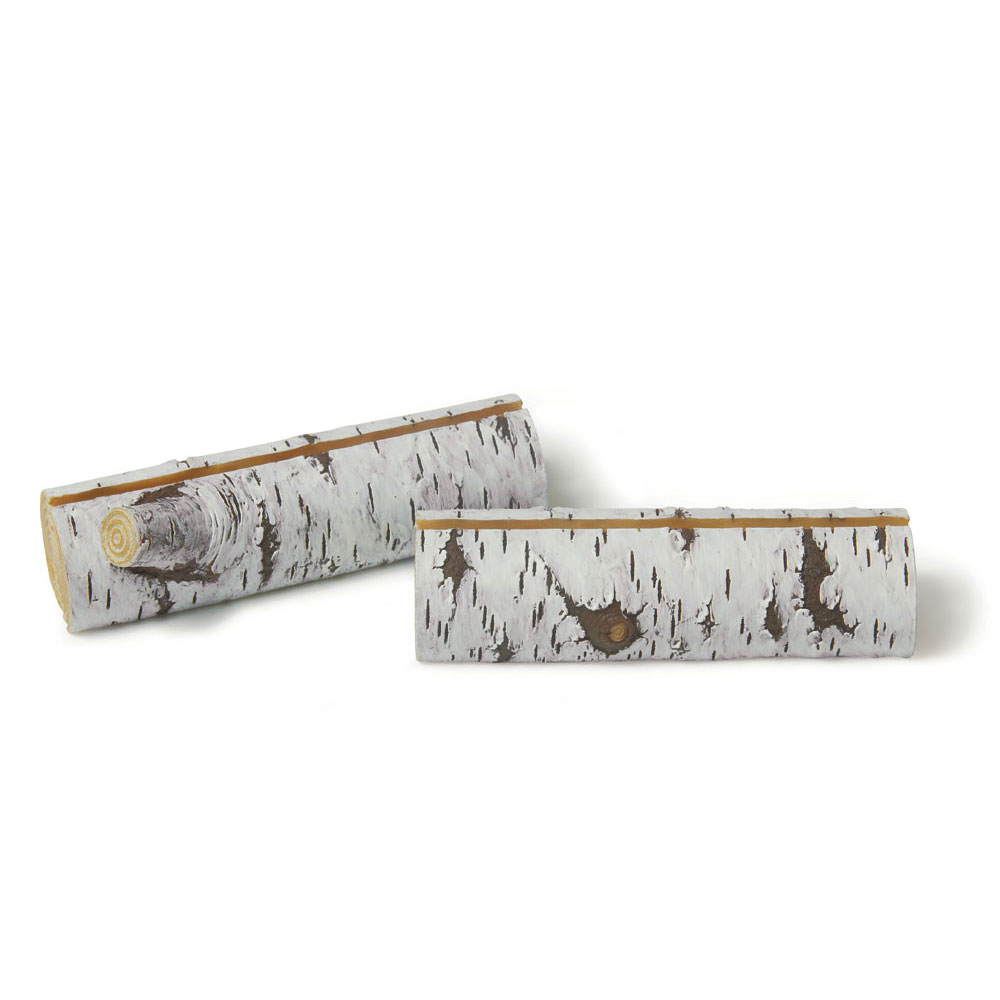 FAUX BIRCH LOG CARD HOLDERS