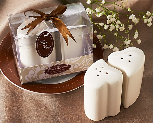 """Hearts Entwined"" Salt & Pepper Shakers"