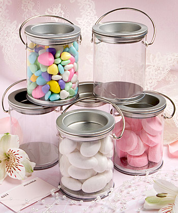 Mini Paint Can Mint Party Favor Tin
