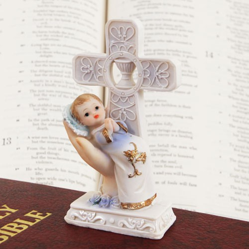 """CHILD OF GOD"" BOY or GIRL FIGURINE"