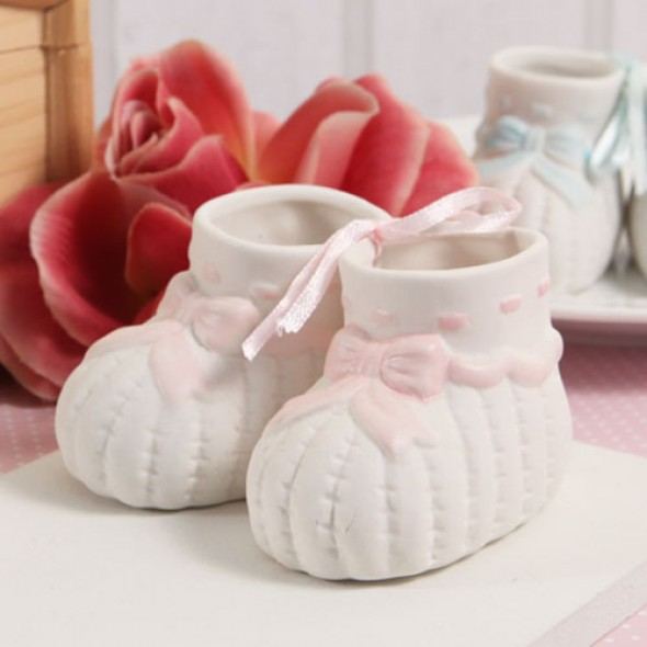 """BABY BOOTIES"" FIGURINE (PAIR)"