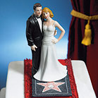 """Hollywood Glamour Couple """"Stars for a Day"""" Figurine"""